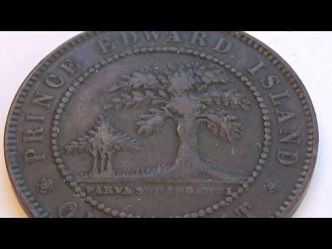 Prince Edward Island 1871 Victoria Coin