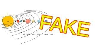 Prečo sú všetky obrázky Slnečnej sústavy FAKE?