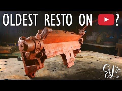 Restoration 1800's Niagara Sheet Metal Brake