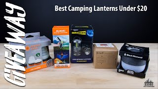 5IVER Friday: Top 5 Best Budget Camping Lanterns + Giveaway