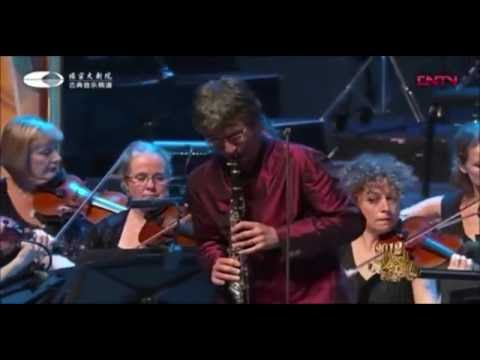 Robert Plane  Mozart Clarinet Concerto in A Major K 622 with BBC National Orchestra of Wales Beijing