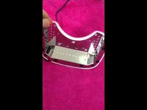 Nail Gaga Flexible LED Slimline Table