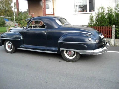 1942 Desoto Custom Business Coupe Original Custom Youtube
