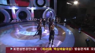 snsd 소녀시대 rundevilrun 런데빌런 on 45th bs awards 20100326