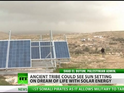 Israel targets Palestinian solar panels in bid for West Bank dominance