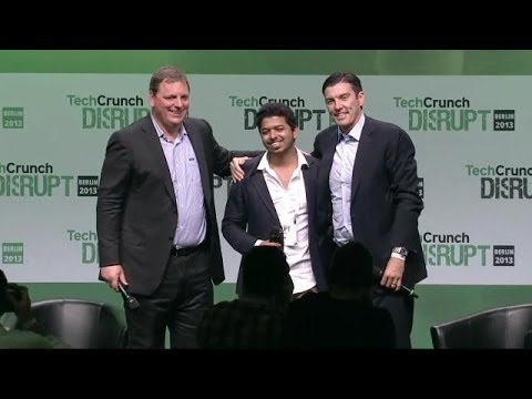 TechCrunch Fan Crashes The Stage! | Disrupt Europe 2013 Mp3
