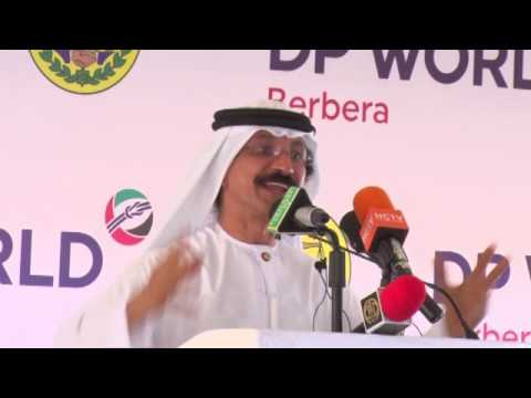 H.E. Sultan Ahmed bin Sulayem. Chairman, DP World. OPENING Berbera Port