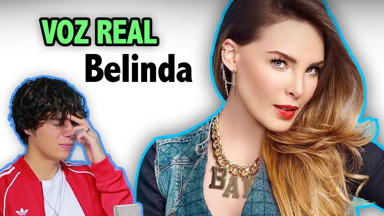 Escuchando la Voz Real de Belinda sin Autotune | Vargott
