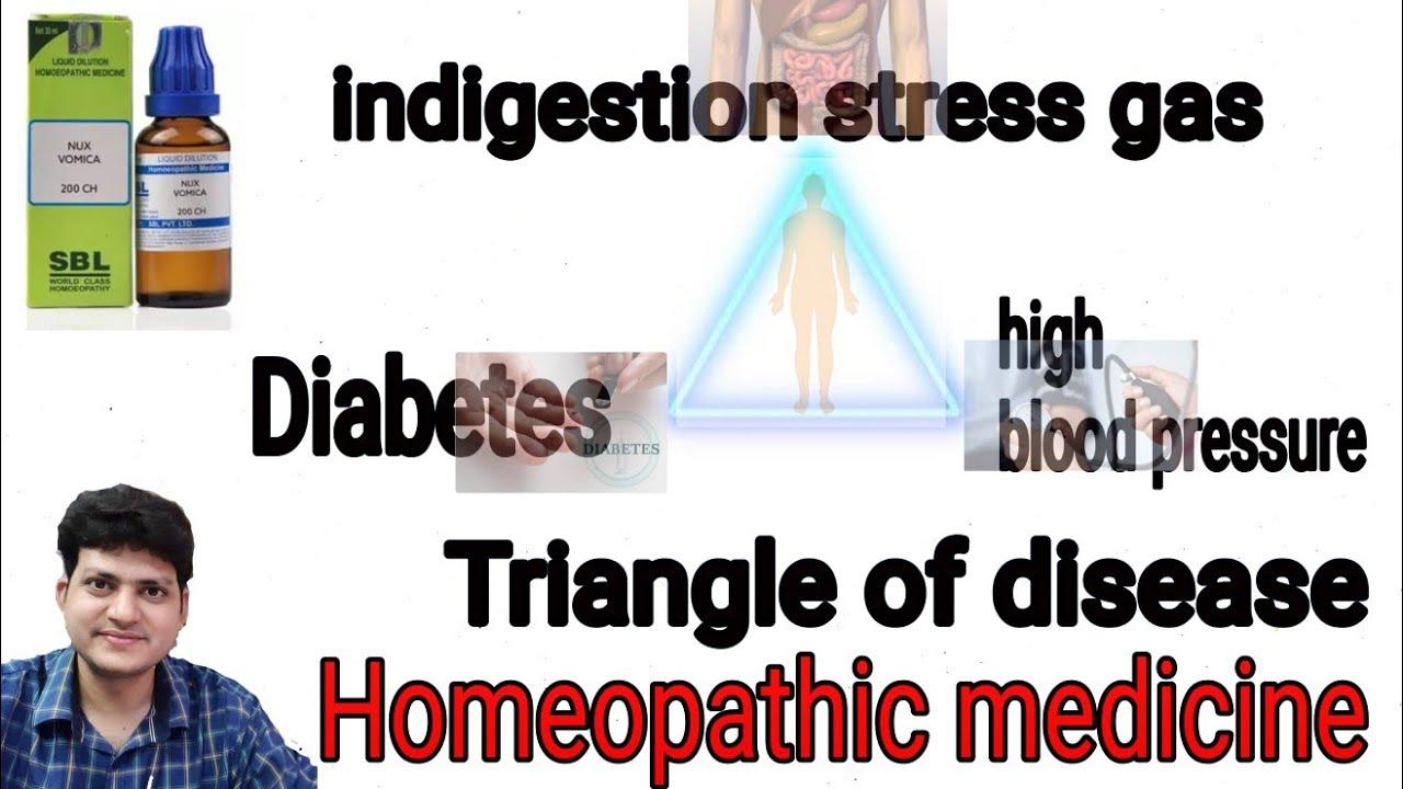 अगर आपको High blood pressure diabetes or Gas की समस्या हो ? Triangle of  disease & Homeopathy |