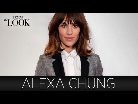Alexa Chung on How She Found Her Style | Harper