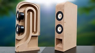 Building a subwoofer blueтooth speaker from MDF - Powerful Bass
