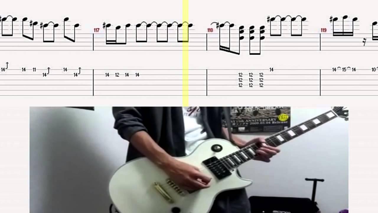 K-ON!! Pure Pure Hear ぴゅあぴゅあはーと Full をギターで弾いてみた ...