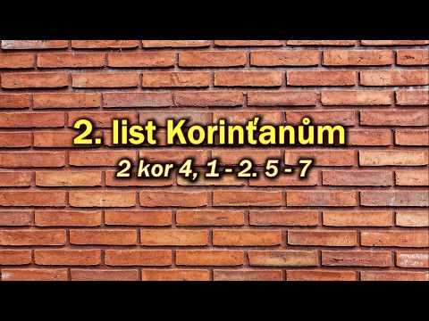 """19. Dýchej Slovo - """"Buď sám sebou"""" (2 Kor 4,1-2.5-7)"""
