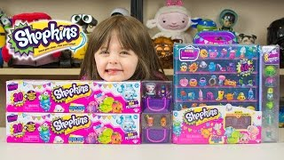 How to Display Shopkins Season 4 Mega Packs Ultra Rare Shopkins Hunt Limited Edition Kinder Playtime