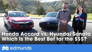 Hyundai vs. Honda: How the New Sonata Stacks Up Against the Accord Dollar for Dollar