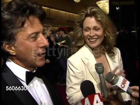 Faye Dunaway Dustin Hoffman Interview 1994