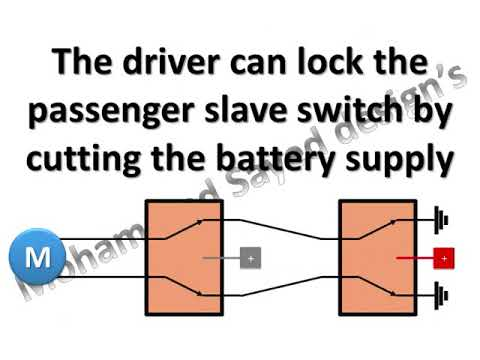 5 pin power window switch - how it works
