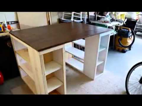 diy craft table ideas creative diy craft desk ideas 4239