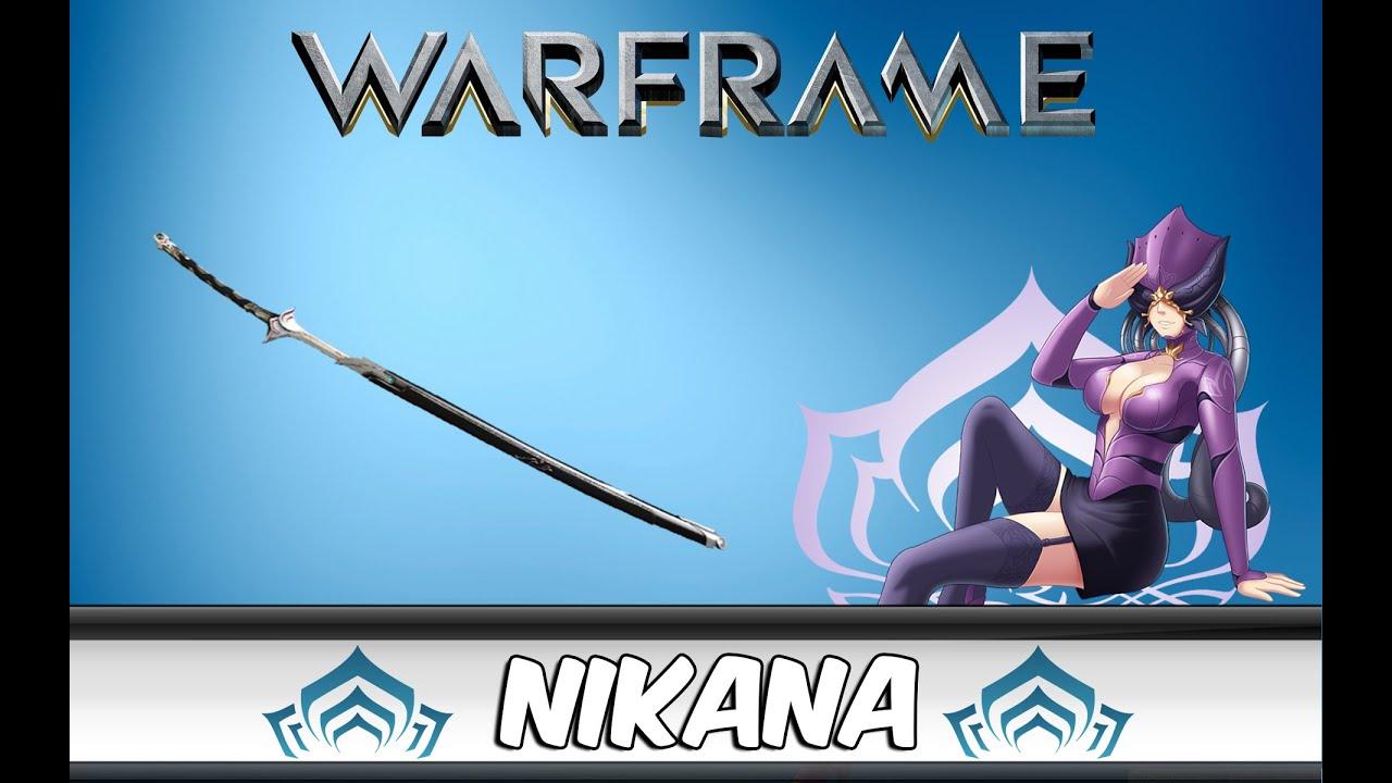 Nikana Prime Blueprint - warframe.market