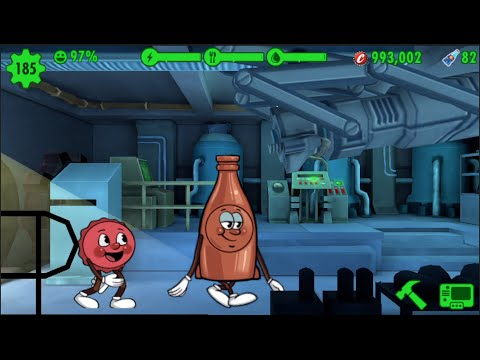 Fallout Shelter Bottle and Cappy