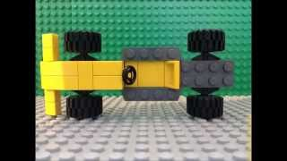 How to make a Lego F1 Car - Easy Tutorial (MOC)