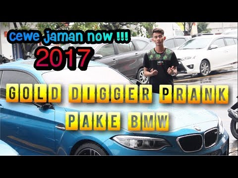 BMW M2 Gold Digger Prank | Prank Indonesia | Dwi Hamdani