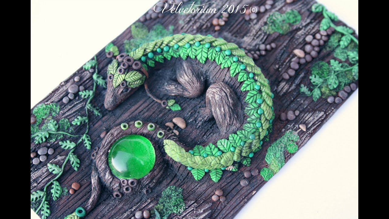 Diy Fantasy Book Covers : Preview polymer clay artwork journal covers by