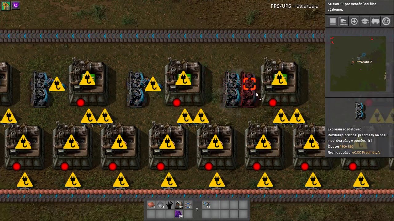 Factorio Green Circuit Layout