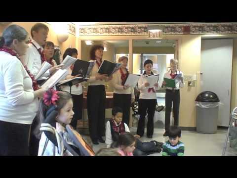Russian Orthodox Church Choir Performs Christmas Carols in English (part 1)