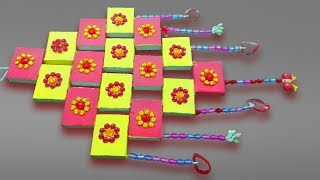 Best Out Of Waste Matchbox wall hanging Craft   Matchbox Reuse Idea   Diy Arts And Crafts