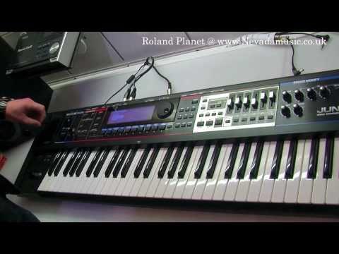 Roland Juno Gi Keyboard Demo with Luke Edwards @ PMT