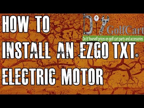 EZGO High Torque Electric Motor Swap | How To Install Golf Cart Motor | Episode 3