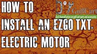 EZGO High Torque Electric Motor Swap | How To Install Golf Cart Motor | Episode 3