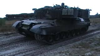 Manöver Dänische Armee Truppenübungsplatz Oksbol November 2002 Leopard 1 DK M113 G3 Army Teil 12
