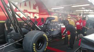 Doug Kalitta Top Fuel warm up