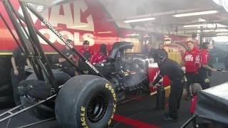 Doug Kalitta Top Fuel warm up