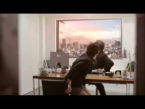 إعلان مرعب من شركة LG لإثبات قدرة شاشتها الفائقة الوضوح Ultra HD 1