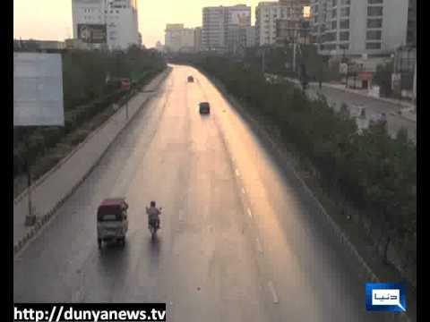 Wheel-jam strike in Karachi