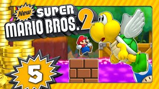 NEW SUPER MARIO BROS. 2 💰 #5: Gift-Dschungel, Mini-Mario Run & Blooper-See