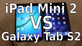 iPad Mini 2 vs Galaxy Tab S2 8.0