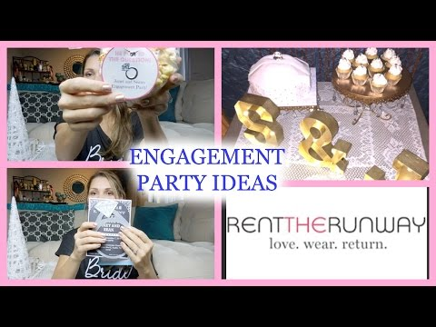 ENGAGEMENT PARTY IDEAS ♡