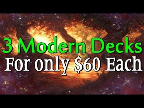 Mtg: 3 Good Budget Modern Decks for about $60 each!