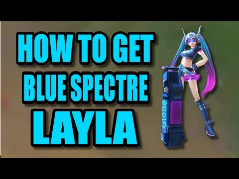 Mobile Legends - How To Get The New Blue Spectre Layla Skin? (Globe offline competition)