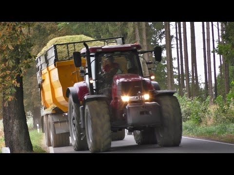 Corn Silage - Tractors in action | Case IH | New Holland | Claas Jaguar 950