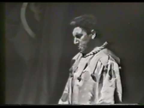 """Aldo Protti - """"Si Può?"""" - Pagliacci 1961"""