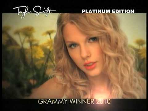 Taylor Swift FEARLESS PLATINUM EDITION Album Promo
