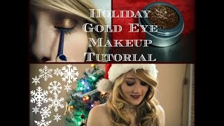 Holiday Makeup Tutorial w/ Magificent Metals Thumbnail