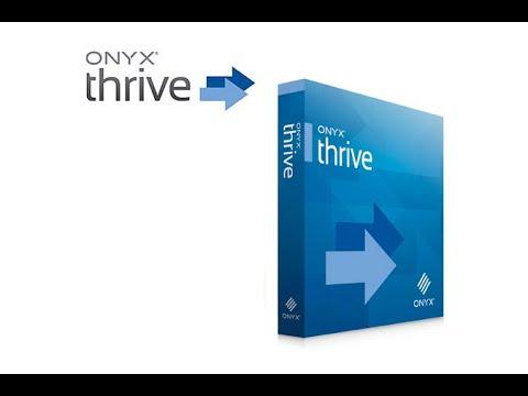 Onyx Thrive 21 RIP Full Work Windows 10 64BIT | Latest Released 2021