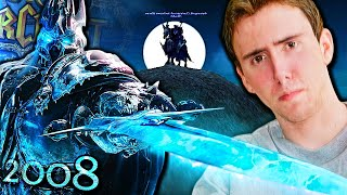 The True Story of Asmongold | Wrath of the Lich King