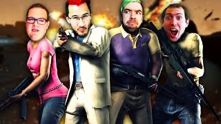 EVERYONE BLAME EACH OTHER!! | Left 4 Dead 2 thumbnail
